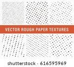 seamless vector weathered... | Shutterstock .eps vector #616595969