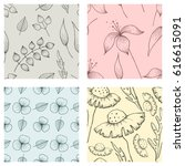 set of vector illustrations of...   Shutterstock .eps vector #616615091