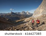 mondeval area  italy   october... | Shutterstock . vector #616627385
