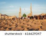 medina  saudi arabia  ksa   ... | Shutterstock . vector #616629347