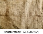 sack texture background brown  ... | Shutterstock . vector #616680764