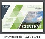 presentation layout design... | Shutterstock .eps vector #616716755