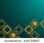 3d abstract background with... | Shutterstock . vector #616718837