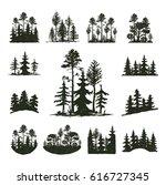 tree outdoor travel black... | Shutterstock .eps vector #616727345