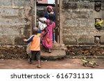 editorial use only. women work...   Shutterstock . vector #616731131