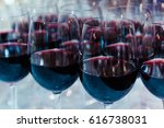 Red Wine In Glasses. Shallow...