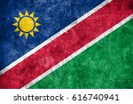 flag of namibia | Shutterstock . vector #616740941