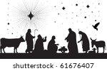 star of bethlehem. raster...   Shutterstock . vector #61676407
