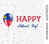 liechtenstein national day... | Shutterstock .eps vector #616764221