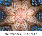 Mediaeval Chapter House Ceiling