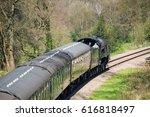 east grinstead  sussex uk  ... | Shutterstock . vector #616818497