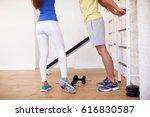 sport couple | Shutterstock . vector #616830587