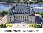 aerial view of supreme court of ... | Shutterstock . vector #616831979