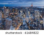 new york   sept 30  view on... | Shutterstock . vector #61684822