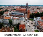 Cityscape Of Gdansk Old Town ...