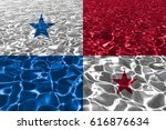 flag of panama | Shutterstock . vector #616876634
