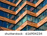 abstract architecture  fragment ... | Shutterstock . vector #616904234