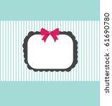 cute frame | Shutterstock .eps vector #61690780