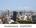 view of tokyo bay and... | Shutterstock . vector #61692592