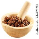 Small photo of ALLSPICE IN PESTLE AND MORTAR CUT OUT
