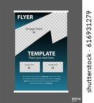 newsletter corporate vector... | Shutterstock .eps vector #616931279