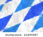 a painted image of the bavarian ...   Shutterstock . vector #61694587
