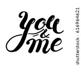 hand drawn style. inspirational ... | Shutterstock .eps vector #616964621