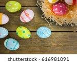 digital composite of happy...   Shutterstock . vector #616981091