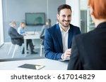 financial advisor | Shutterstock . vector #617014829