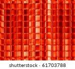 red mosaic | Shutterstock . vector #61703788