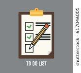 vector illustration of to do... | Shutterstock .eps vector #617046005