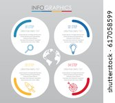 info graphic template for... | Shutterstock .eps vector #617058599