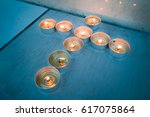 Glowing Candle Tea Lights In...