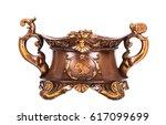 vintage baroque ornament  retro ...   Shutterstock . vector #617099699
