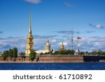 The Peter And Paul Fortress  S...
