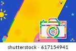 vector abstract creative... | Shutterstock .eps vector #617154941