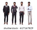 group of full body people | Shutterstock . vector #617167829