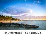 Fiji Island Beach Sunset....