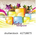 bright abstract background | Shutterstock .eps vector #61718875