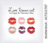 vector lips.   Shutterstock .eps vector #617211707