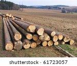 stock of trunks | Shutterstock . vector #61723057