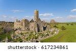aerial view of an irish public ... | Shutterstock . vector #617234861