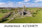 aerial view of an irish public ... | Shutterstock . vector #617234879