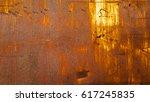 metal rust background  metal... | Shutterstock . vector #617245835