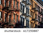 Colorful Soho Building Facades Painted - Fine Art prints