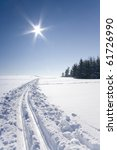 ski track   Shutterstock . vector #61726990