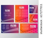 fresh background flyer style... | Shutterstock .eps vector #617277011