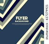fresh flyer style background... | Shutterstock .eps vector #617279921