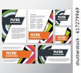 fresh flyer style background... | Shutterstock .eps vector #617279969