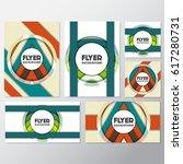fresh flyer style background... | Shutterstock .eps vector #617280731